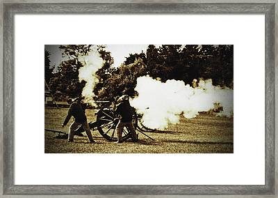 Framed Print featuring the photograph Fire by Randall  Cogle