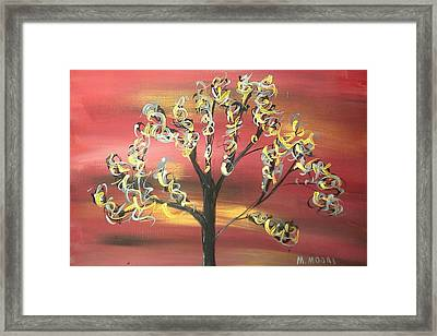 Fire Storm Framed Print by Mark Moore