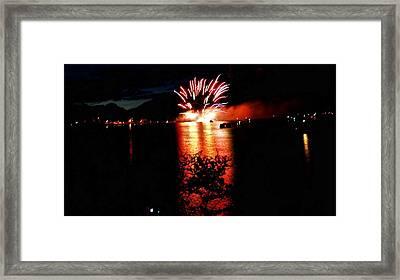 Fire Water Framed Print by Don Mann