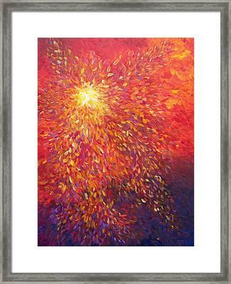 Fire Wind Framed Print