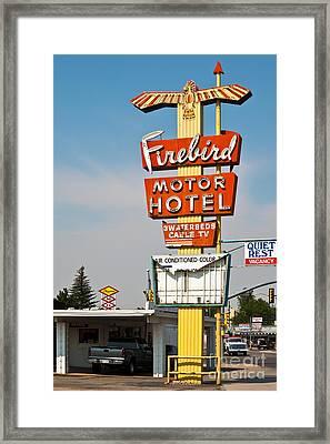 Firebird Motor Hotel Framed Print