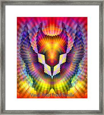 Firebird Framed Print by Visual Artist  Frank Bonilla