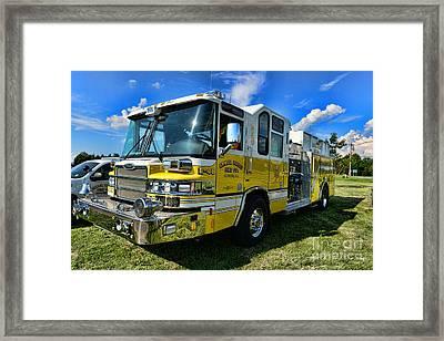 Fireman - Amwell Valley Fire Co. Framed Print