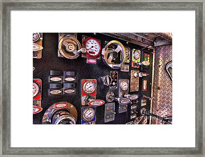 Fireman - Discharge Panel Framed Print