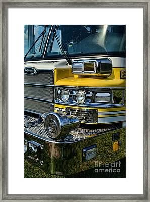 Fireman - Fire Siren Framed Print by Paul Ward