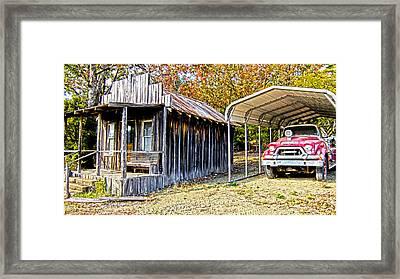 Fireman Cottage Framed Print by Douglas Barnard