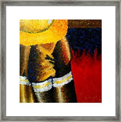 Firemen II Framed Print by Ashley Prescott