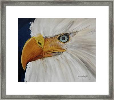 Firemen's Eagle Framed Print