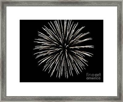 Firework 2 Framed Print