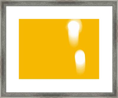 Firework Abstract Ll Framed Print