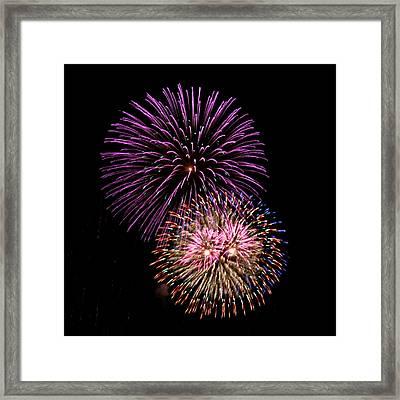 Firework Eyes Framed Print by Chris Anderson