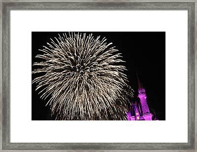 Firework Framed Print