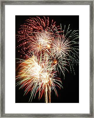 Fireworks 1569 Framed Print by Michael Peychich