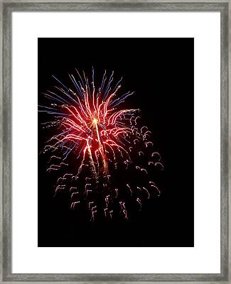 Fireworks 2 Framed Print by Tanya Moody