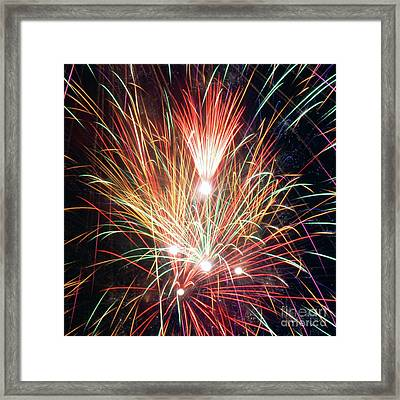 Fireworks One Framed Print