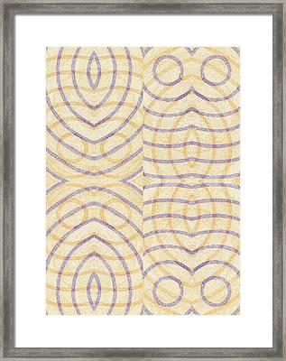 Firmamentals 0-3 Framed Print by William Burns