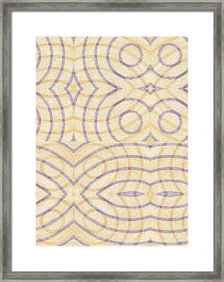Firmamentals 0-7 Framed Print by William Burns