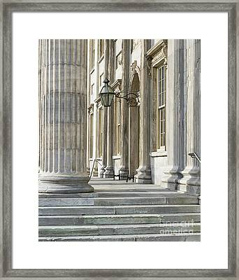 First Bank Of The United States Framed Print by John Greim