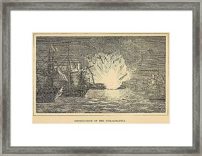First Barbary War 1801-1805 Framed Print by Everett