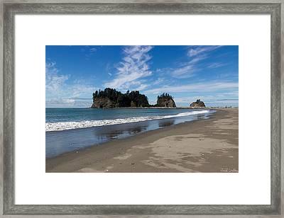 First Beach Framed Print