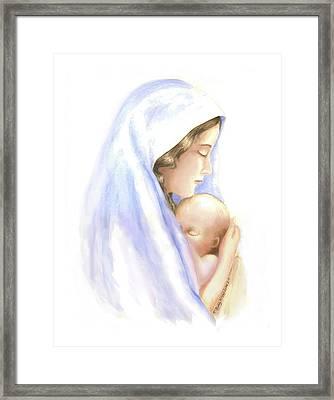 First Born Framed Print by Roberta Roddy