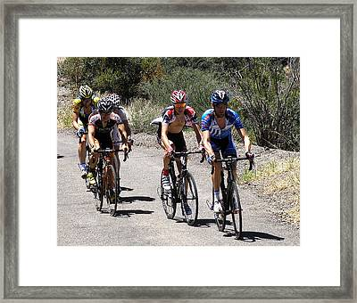 First Day Pro Leaders Framed Print