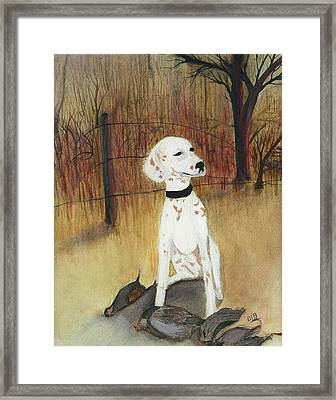 First Hunt Framed Print by David Bartsch