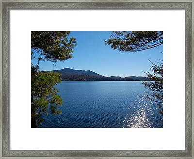 First Island Framed Print