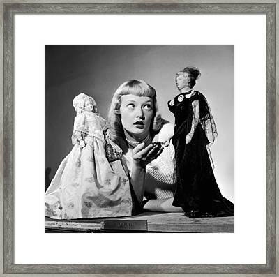 First Lady Dolls Framed Print by Grundy