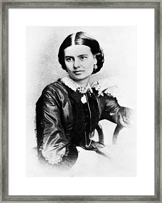 First Lady Ellen Herndon Arthur, Wife Framed Print by Everett