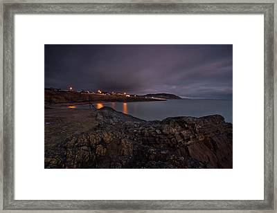 First Light At Greystones Framed Print