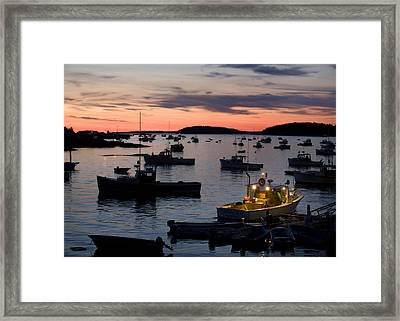 First Light Framed Print by Don Powers