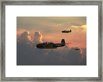 First Light Strike Framed Print