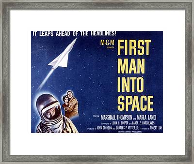 First Man Into Space, 1959 Framed Print by Everett