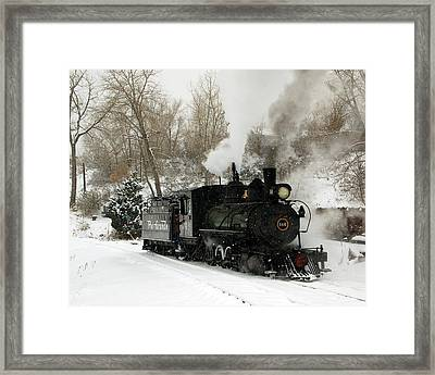 First Morning Run Framed Print by Ken Smith