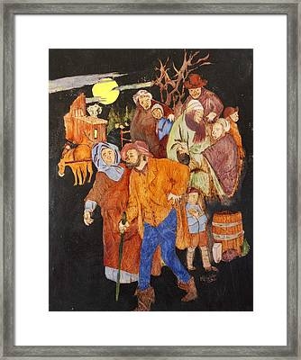 First Night On The Underground Railroad Framed Print by Mike Holder
