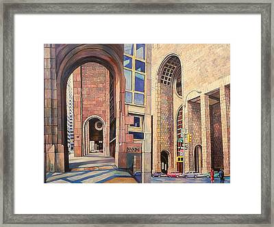 First Of The Att Series Framed Print