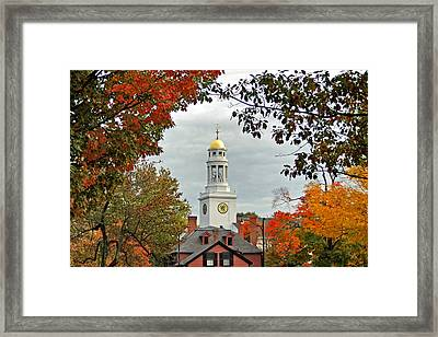 First Parish Church Framed Print