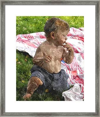 First Picnic Fpwc Framed Print