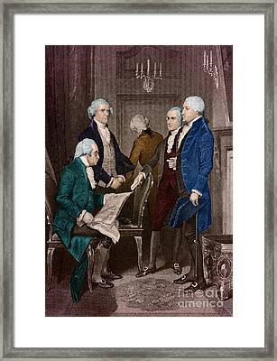 First Presidential Administration Framed Print