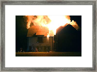 First Responders Framed Print by Daniel Reed