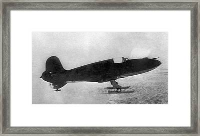 First Soviet Rocket Aeroplane Framed Print by Ria Novosti