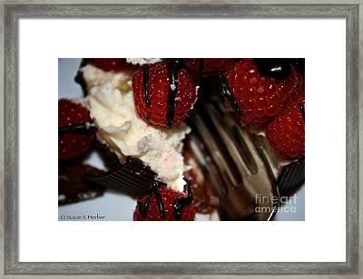First Taste Framed Print by Susan Herber
