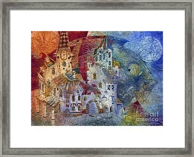 Fish -  Moon  Framed Print by Svetlana and Sabir Gadghievs