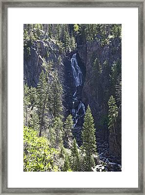 Fish Creek Falls Co. Framed Print