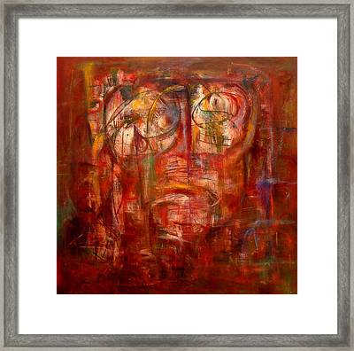 Fish-eye Framed Print