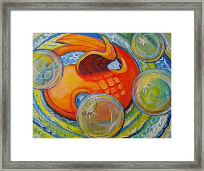 Fish Fun Framed Print by Jeanette Jarmon