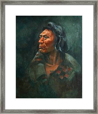 Fish Hawk Framed Print by Synnove Pettersen