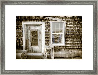 Fish House Framed Print by At Lands End Photography