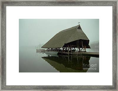 Fish House Framed Print by Michael Swanson